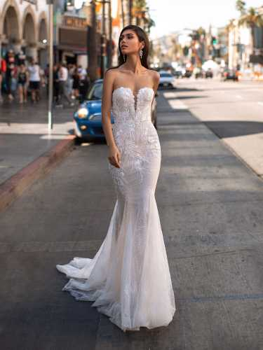 Hollywood Glamour Collection Mermaid wedding dress