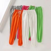 Skinny Harlan Pants Casual Candy Colored Sweatpants Morning Running Pants H35764
