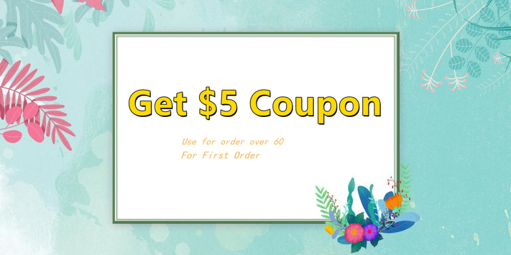 first order coupon