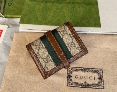 GUCCI 〔ジャッキー 1961〕カードケース ウォレット(コイン&紙幣入れ付き)
