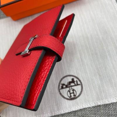 HERMES エルメス 財布 ベアンコンパクト ゴールド ゴールドプレーテッド
