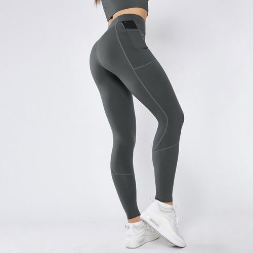 大碼高腰瑜伽褲