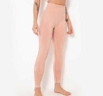 無縫健身褲瑜伽褲