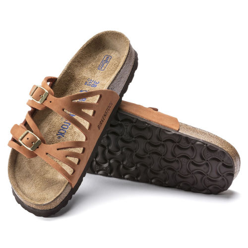 Granada Soft Footbed Nubuck Leather (Buy 3 Get 15% OFF & Free Shipping)