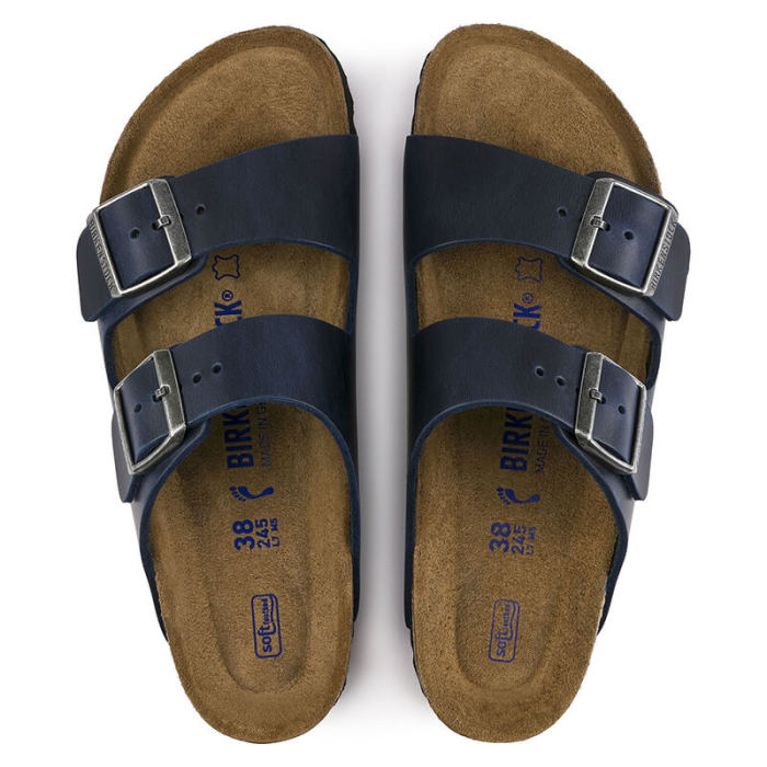 Arizona Soft Footbed Oil Leather Sandal (BUY 3 GET 15% OFF & Free Shipping)