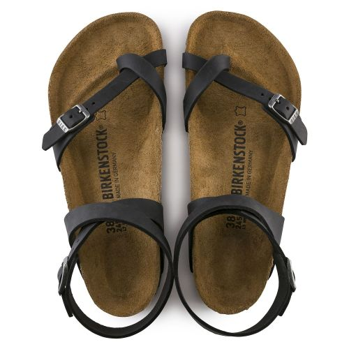 Yara Soft Footbed Oil Leather Sandal (Buy 3 Get 15% OFF & Free Shipping)