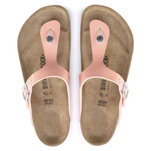 Gizeh Thong Comfort Sandal Patent- Peach Pink (Buy 3 Get 10% OFF & Free Shipping)