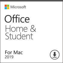 Microsoft Office Home and Student 2019 Account Lifetime with Download Link for MAC Global Language(Not CD)