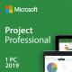 Microsoft Project Professional 2019 Digital License Key Lifetime 32/64 Bit Global Language for Windows(Not CD)