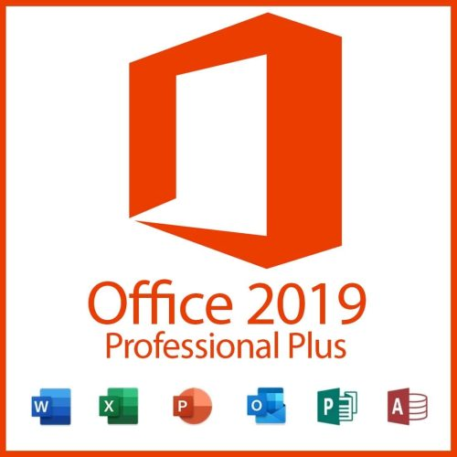 Microsoft Office Professional Plus 2019 Digital License Key Lifetime 32/64 Bit  with Download Link Global Language for Windows(Not CD)