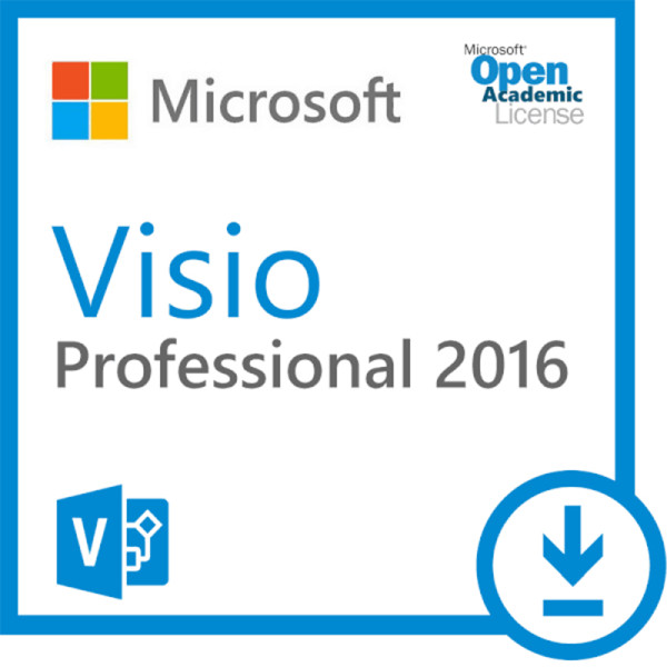 Microsoft Visio Professional 2016 Key Lifetime 32/64 Bit with Download Link Global Language for Windows(Not CD)