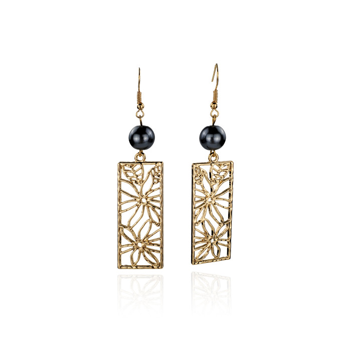 Tropic flower earrings