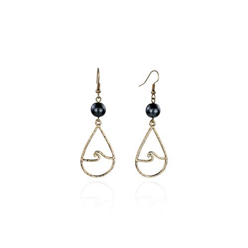 Wave earrings