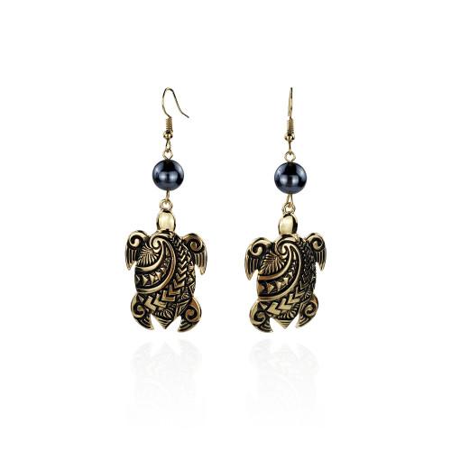 Tribal turtle earrings A100055