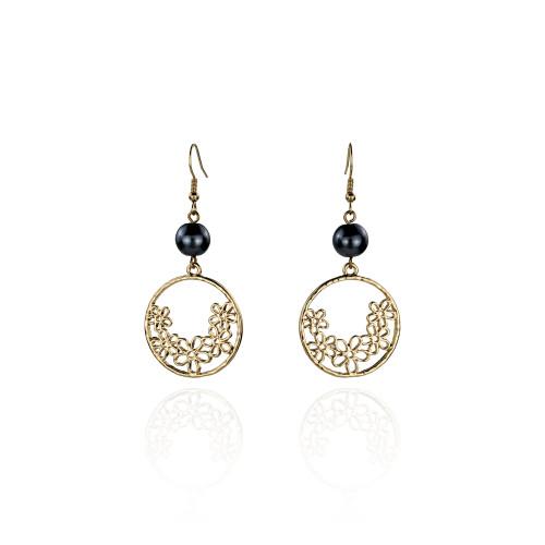 Plumeria earrings A100059