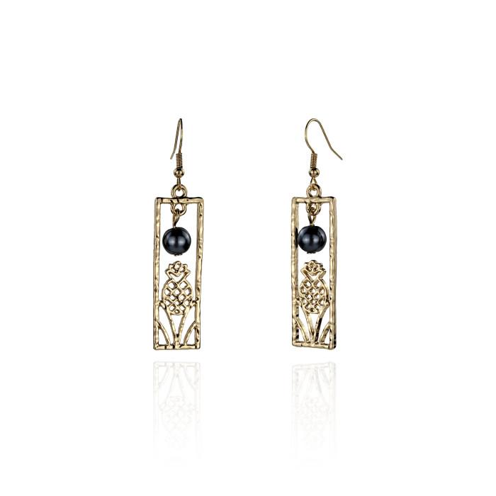 Pineapple earrings  A100041