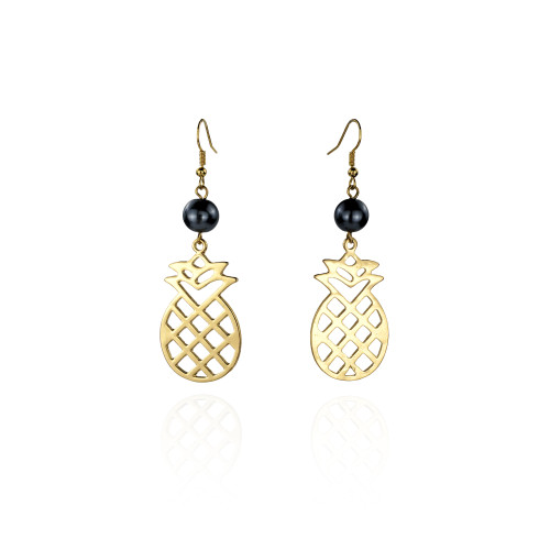 Polish pineaaple earrings A100042
