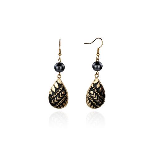 Tribal drop earrings