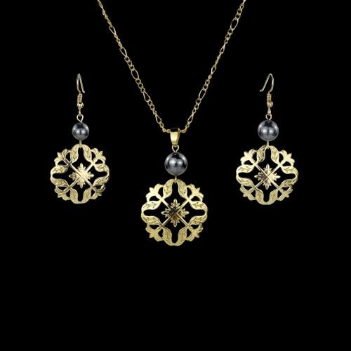 Pikake flower earrings set A300006
