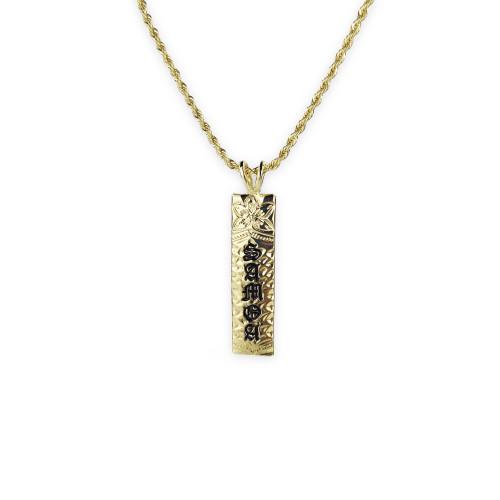 Samoa plumeria necklace A200002
