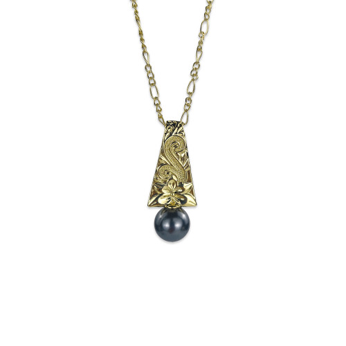 Plumeria necklace A200012