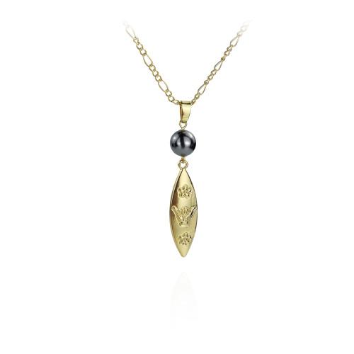 Hawaiian  plumeria necklace A200004