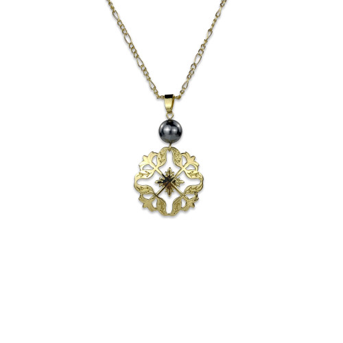 Pikake flower necklace  A200007