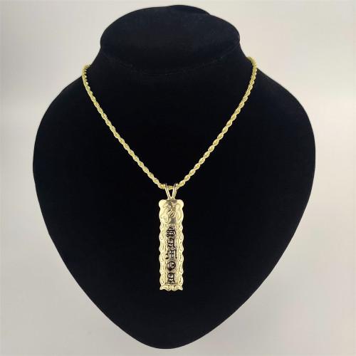 Samoa turtle bar necklace A200001
