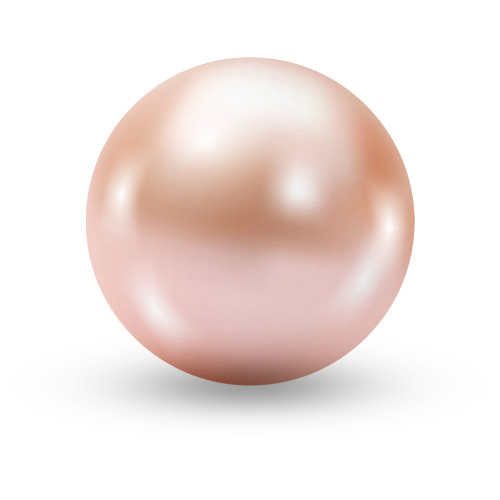 10mm Pink Pearls Double-hole P005