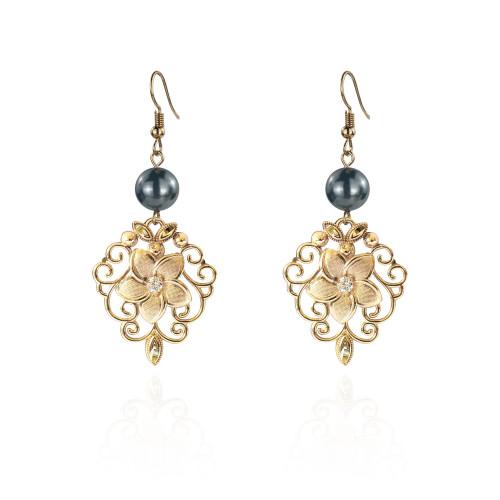 Plumeria earrings A100116