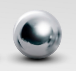 10mm Silver Pearls Double-hole P007