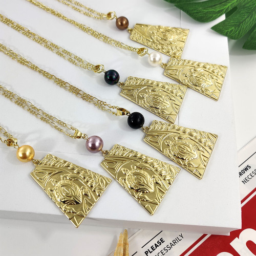 Honu turtle necklace&earring set