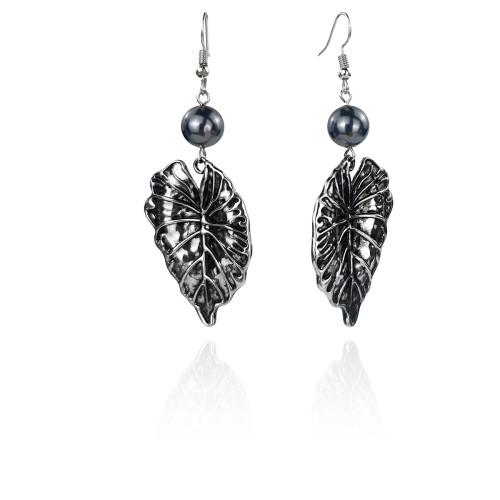 Tribal leaf earrings A100098