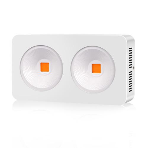 High Power 2x 200w Full Spectrum Hydroponic LED Lighting  for Indoor Plants LED Grow Light
