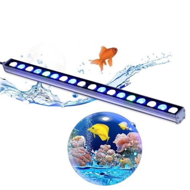 Waterproof IP65 Reef Light Light Weight Adjustable Bracket LED Aquarium Light