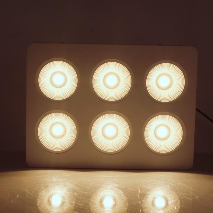 Hot Selling 2.6 umol/j cxb 3590 High Power 580W Full Spectrum Led Grow Panel Light