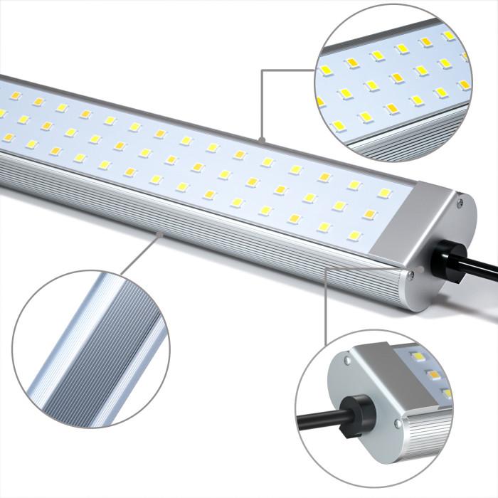 Factory Whosale 50W Full Spectrum Hydroponics Vertical Farming LED Grow Light Bar