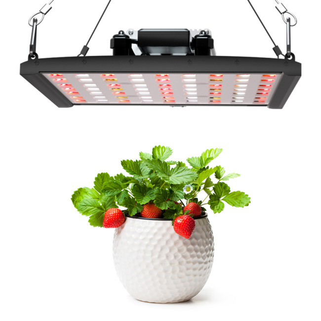 100W Dual Channel Bluetooth App Control  Indoor plant LED Grow Light panel