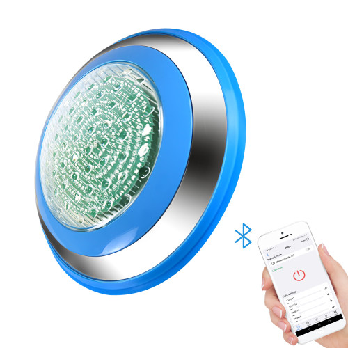 Bluetooth Control Stainless Steel  Swimming Pool Under Water LED Lighting