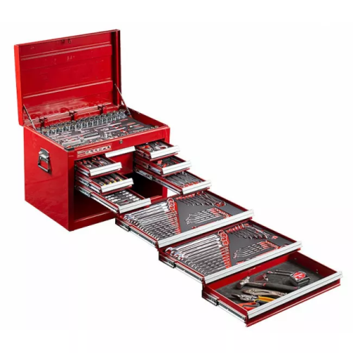 SCMT10128 Tool Kit 309 Piece Metric/AF 8 Drawer Top Chest #10128