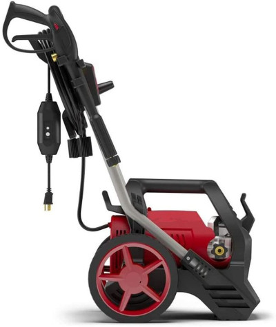 S2200 2200 MAX PSI at 1.0 GPM Electric Pressure Washer with Detergent Foamer, 25-Foot High-Pressure Hose, and Turbo Nozzle