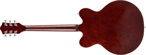 G5622 ELECTROMATIC® CENTER BLOCK DOUBLE-CUT WITH V-STOPTAIL, LAUREL FINGERBOARD, AGED WALNUT