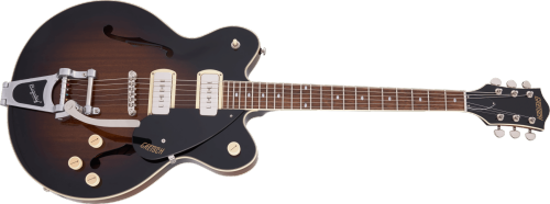 G2622T-P90 STREAMLINER™ CENTER BLOCK DOUBLE-CUT P90 WITH BIGSBY®, LAUREL FINGERBOARD, BROWNSTONE