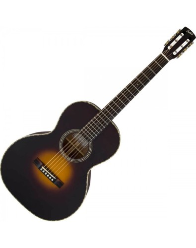 Style 2 G9521 Triple-0 Auditorium Guitar - Appalachia Burst