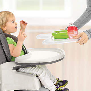 Stack 1-2-3 Highchair - Dots