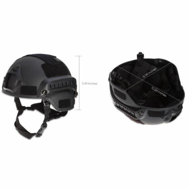 Camo MICH2000 Head Protective ABS Tactical Helmet