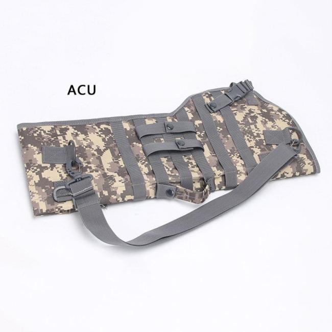 28'' Tactical Gel Blaster Scabbard Bag Nylon Shoulder Sling Case Holster