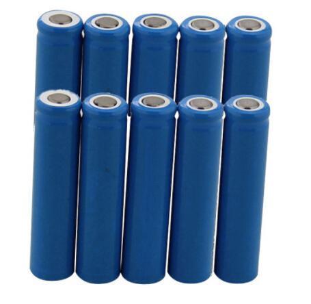 10Pcs 10440 3.7V AAA Li-ion Battery