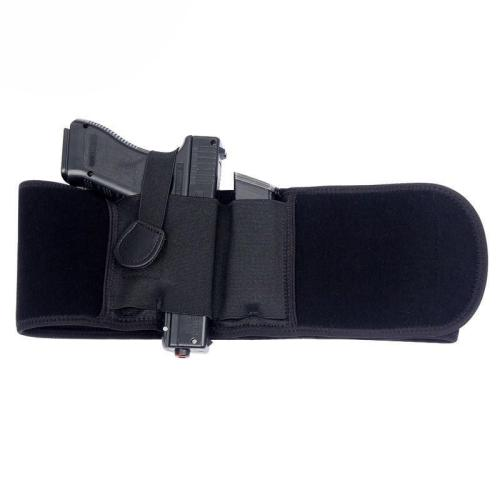 Pistol Left and Right Hidden Belly Band Holster