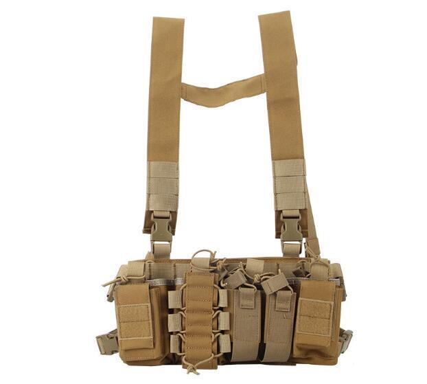 500D Tactical Molle D3 Chest Rig Vest